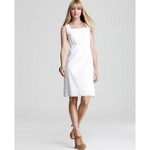 Elie Tahari Brooklyn sleeveless sheath dress